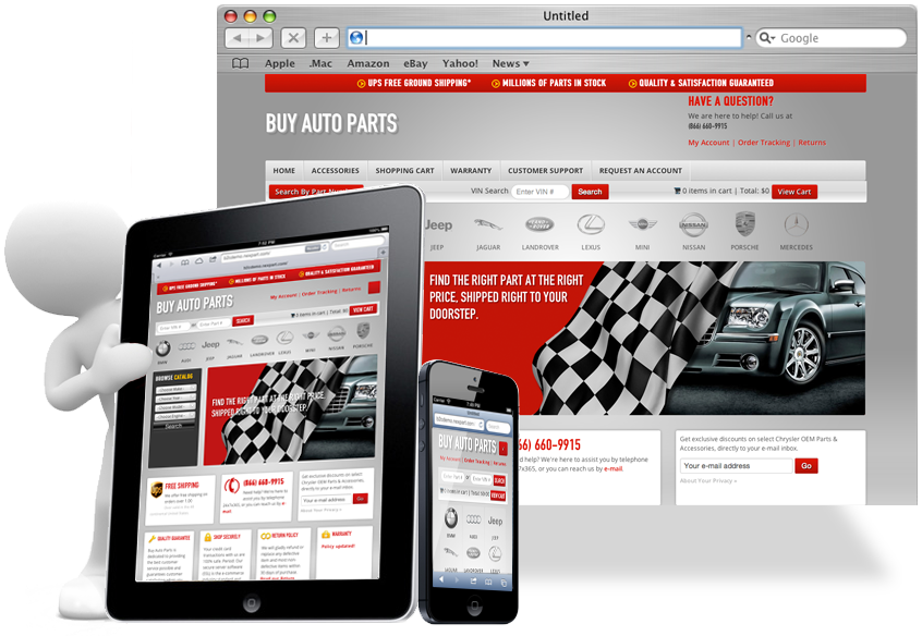 Automotive eCommerce - Sell Parts Online